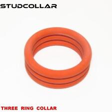 STUDCOLLAR-SILICONE-COLLAR - Rubber Penis Erection Performance Enhancing Rings