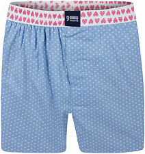 "Happy Shorts Boxer Shorts ""Dots"" - 100% Cotton / Jersey inner slip (S-XXL)"