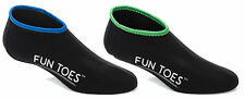 FUN TOES Neoprene Fin Socks for Men or Women 2 Pairs