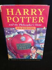 Rare Harry Potter & Philosophers Stone Hb Dj 1st Edition 3rd Imp 1997 Ted Smart