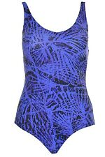 Speedo Womens Conservative Swimsuit Shirred One Piece Slimming Modest Ruched