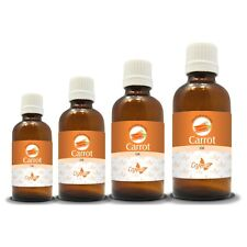 100% NATURAL CARROT ESSENTIAL OIL (Aromatherapy) choose from 15ml to 100ml