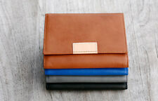 Status Anxiety Women's Ethel Wallet - Tan, Blue, Grey, Black  RRP $79 Leather