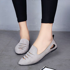 New Women's Summer Grils Loafer Comfort Flats Slip On Sneakers Casual Shoes SC36