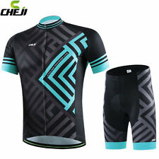 CHEJI Men Outdoor Cycling Jersey Bike (Bib) Shorts Ropa Ciclismo Bicycle Sports