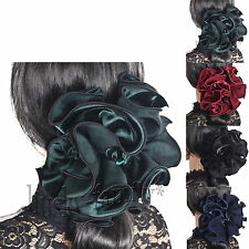 elegant women large  claw clip chiffon hair claw clamp Hair Accessories FB807