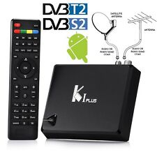 Satellite DVB-S2 DVB-T2 + Android 5.1 Quad Core Combo Tuner Receiver TV Box