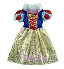 Princess Snow White Costume Outfit Fancy Dress Up Girls age 3-10 Cosplay Costume