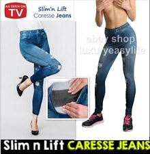 NEW SLIM N LIFT CARESSE JEANS SHAPEWEAR SLIMMING CONTROL SKINNY JEGGINGS