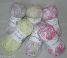 50 Gr Pastel LIGHT by grGründl soft Microfiber yarn in soft Pastel