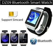 Unlock Bluetooth Smart Watch DZ09 For HTC Samsung Android Phone Camera SIM Slot