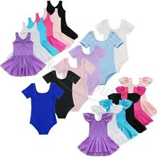 Toddler Infand Child Baby Girls Kids Dance Dress Leotard Tutu Dancewear Clothes