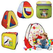 Kids Baby Toddler Pop Up Play Tent Indoor Outdoor Fold Children Play House Toys