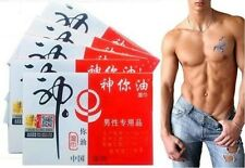 Herbal God Oil Extend Sexual Premature Ejaculation Delay Wet Wipes for Man Male