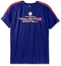 Philadelphia 76ers Majestic Mens Buzzer Beater Synthetic Shirt Big & Tall Sizes