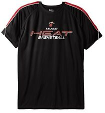 Miami Heat NBA Majestic Mens Buzzer Beater Synthetic Shirt Big & Tall Sizes
