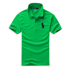 New Fashion Men's Polo Shirts Classic Cotton Short Sleeve Sport Casual Tee M-6XL