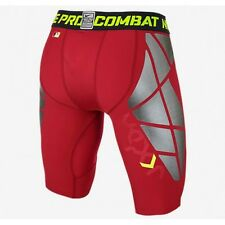 $70 Nike Pro Combat Hyperstrong Slider 1.5 Men Baseball Shorts Red 634677 657
