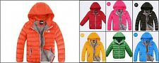 New autumn and winter children boys and girls down jacket down jacket coat