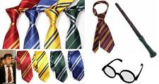 Harry Potter Hogwarts Gryffindor Slytherin Ravenclaw Hufflepuff Fancy Dress Tie