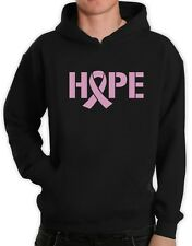 Hope Breast Cancer Awareness Pink Ribbon Hoodie Support