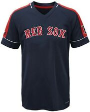 Boston Red Sox MLB Majestic Mens Lead Hitter Jersey Navy Big & Tall Sizes