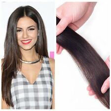 40 pcs Skin Weft Remy Real Straight Tape in Human Hair Extensions 16 to 24 Inch