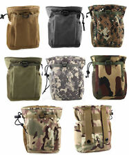 Outdoor Hiking Camping Tactical Pocket Dump Pouch Phone Bag Tool Case Belt pack
