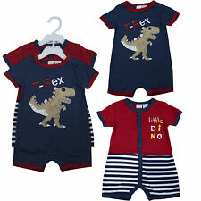 New Baby Boy 2 pieces set Play Wear Outfit lot Onesies Size 0 3 6 9 months