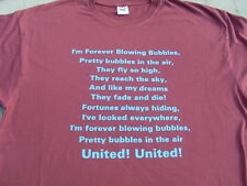 West Ham Blowing Bubbles Song T-Shirts & Sweat Shirts Inc 4XL 5XL Birthday Gift