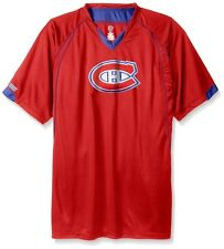 Montreal Canadiens NHL Mens Moist Management Legacy Jersey Red Big & Tall Sizes