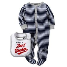 Carters Footed One Piece Sleep Play Set Romper Bodysuit Baby Boy NB 3 Months