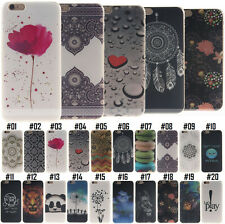 TPU Soft Back Silicone Protective Rubber Shockproof Skin Cover Case For iPhone