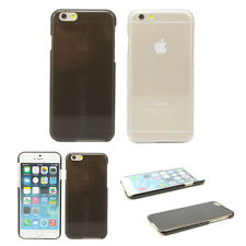 "Ultra Thin Slim Clear Crystal Hard Case Cover Skin For Apple iPhone 6 4.7"" Black"