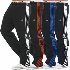 MENS ADIDAS GYM RUNNING JOGGING BOTTOMS IN NAVY BLACK COLOURS ALL SIZES S TO 2XL