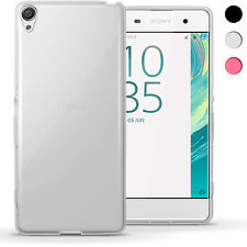 Glossy TPU Gel Case for Sony Xperia XA F3111 2016 Skin Cover + Screen Protector