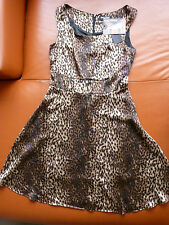Dangerfield beautiful OUT OF BOUNDS ANIMAL PRINT Party DRESS NWT Choose size