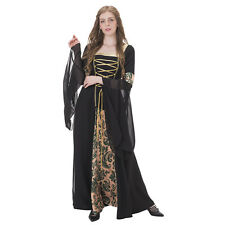 Renaissance Medieval Vintage dress Costume Adult Fancy Dress Halloween Costume