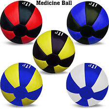 Leather Medicine Ball Filled Gym Fitness Exercise Medicine Ball 3 & 5 KG