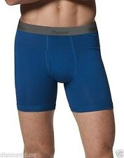 6 Pack Hanes Men's Ultimate X-Temp Cotton Boxer Briefs - Assorted Colors - S-XL