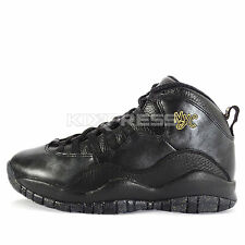 Nike Air Jordan 10 Retro [310805-012] Basketball NYC New York City Black/Gold