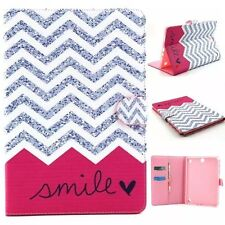 Ultra Slim Smart PU Wallet Leather Case Cover Stand For Apple Samsung Tablets