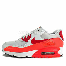 Nike WMNS Air Max 90 Essential [616730-028] NSW Casual Platinum/Red-Orange