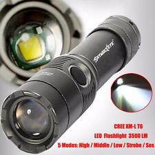 3500LM CREE XM-L T6 LED Rechargeable Flashlight Torch w/18650 Light Lamp Hotsale