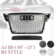 RS4 HONEYCOMB STYLE FRONT HOOD MESH GRILLE for AUDI A4 B8 P 08-12 5 VERSIONS