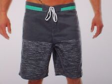 NEW BILLABONG swim board shorts trunks heather gray  sz 30 SHIFTY
