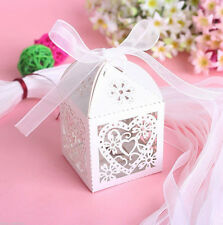 5x Sweet Boxes Favours Luxury NEW Wedding Box Party Candy Cake Decorations Gift