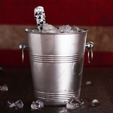 Stainless Steel Wine Bottle Cooler Drink Champagne Chiller Ice Bucket Bar Tool