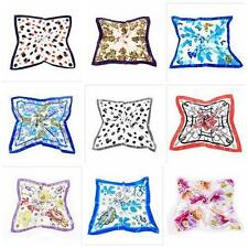 9 Style Classical Pattern Head Scarves Shawl Wrap Kerchief Womens Square Scarf