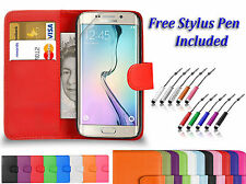 PU Leather Book Flip Wallet  Case Cover For Samsung Galaxy Trend 2 LITE G318H UK